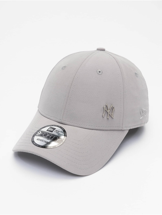 New Era Snapbackkeps MLB NY Yankees Flawleshortsleeve Logo grå