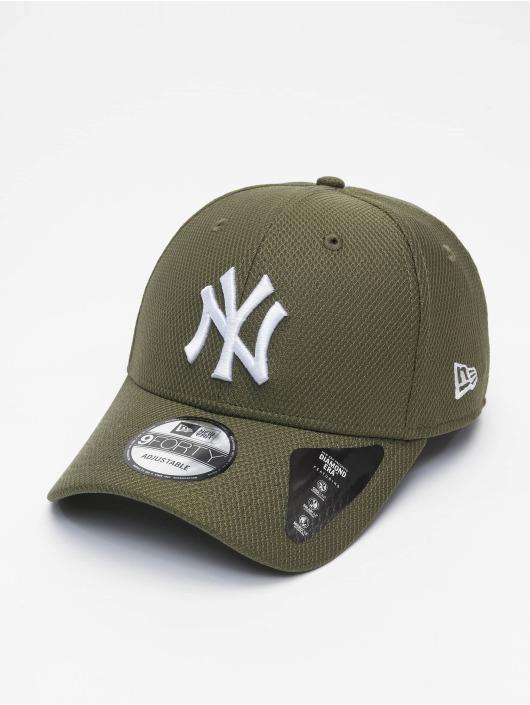 New Era Snapbackkeps MLB NY Yankees Diamond Era 9forty grön