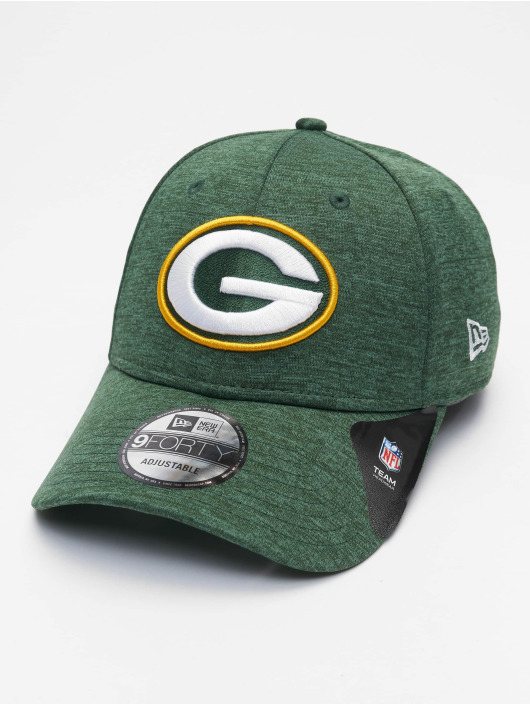 New Era Snapbackkeps Nfl Properties Green Bay Packers Shadow Tech grön