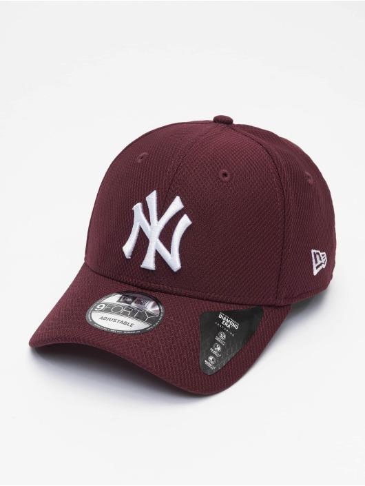 New Era Snapbackkeps MLB NY Yankees Diamond Era 9forty röd
