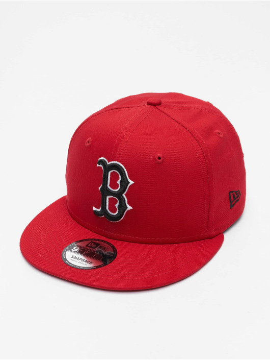 New Era Snapbackkeps MLB Boston Red Sox League Essential 9Fifty röd