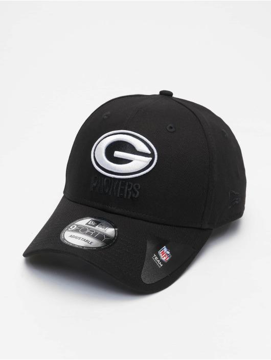 New Era Snapbackkeps Nfl Properties Green Bay Packers Black Base 9forty svart