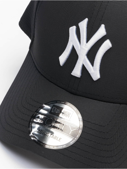 New Era Snapbackkeps MLB New York Yankees Mesh Underlay 9Forty S svart