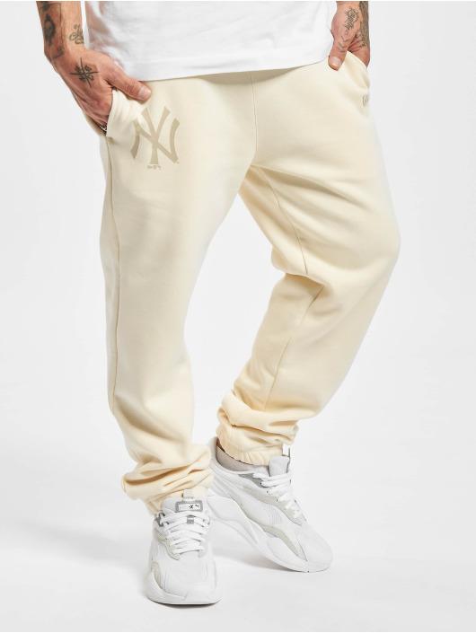 New Era Spodnie do joggingu New Era MLB NY Yankees Seasonal Logo Relaxed bezowy