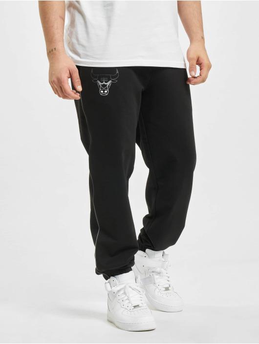 New Era Spodnie do joggingu NBA Chicago Bulls Fade Logo czarny