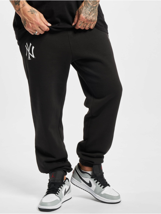 New Era Spodnie do joggingu MLB New York Yankees Team Logo czarny