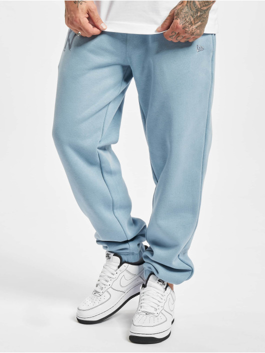 New Era Spodnie do joggingu MLB NY Yankees Seasonal Logo Relaxed niebieski