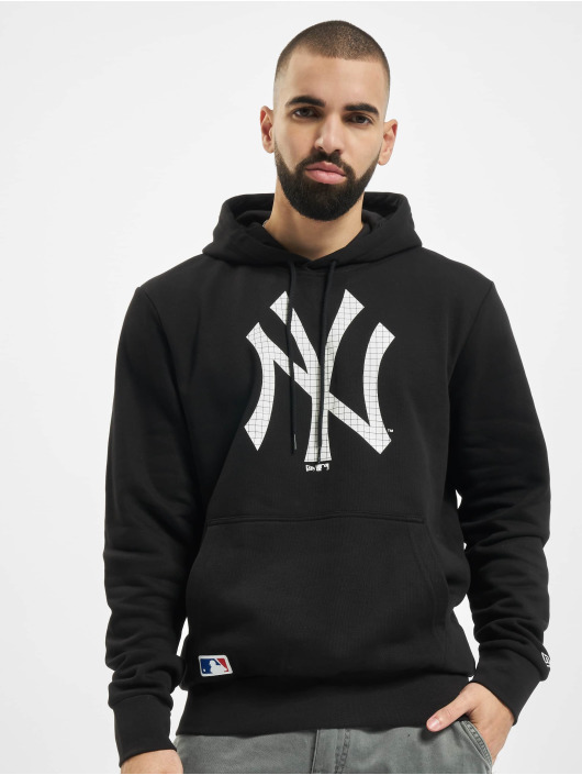 New Era Sweat capuche MLB Infill Logo noir