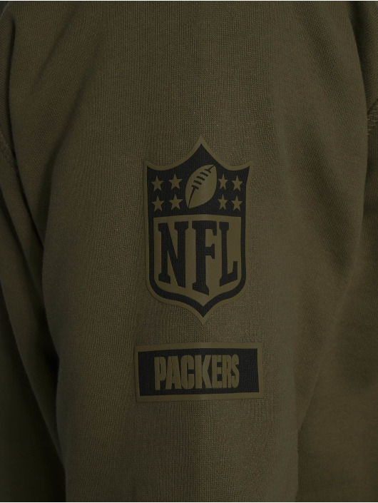 Sweat Era Nfl Olive Camo Packers 532183 New Bay Homme Collection Green Capuche QxeCWBordE
