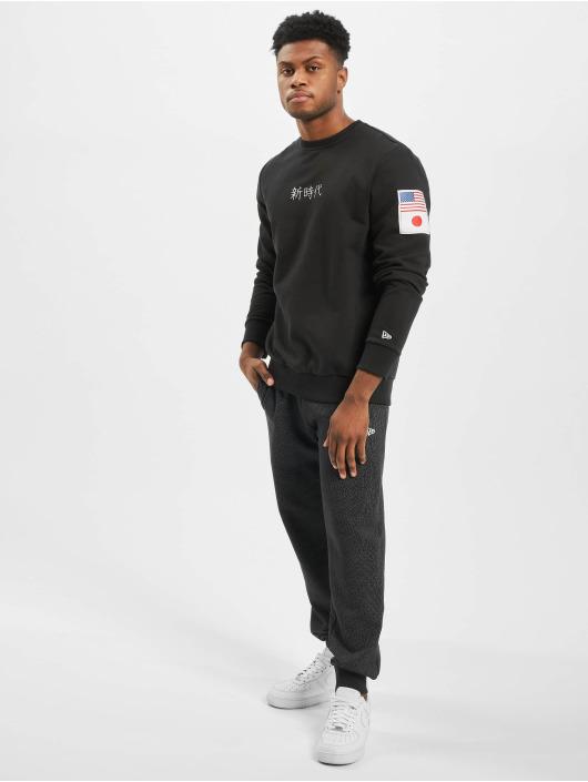 New Era Swetry Far East czarny