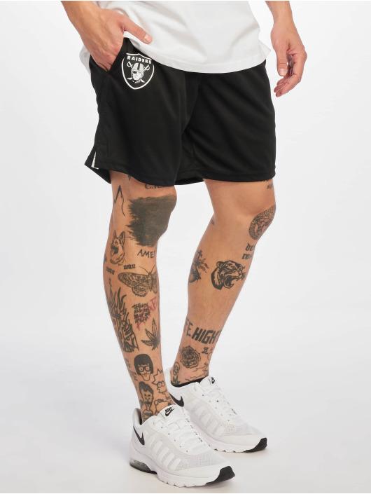 New Era Szorty Oakland Raiders czarny