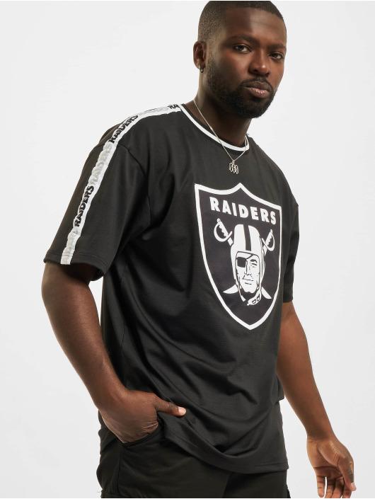 New Era T-paidat NFL Las Vegas Raiders Taping Oversized musta