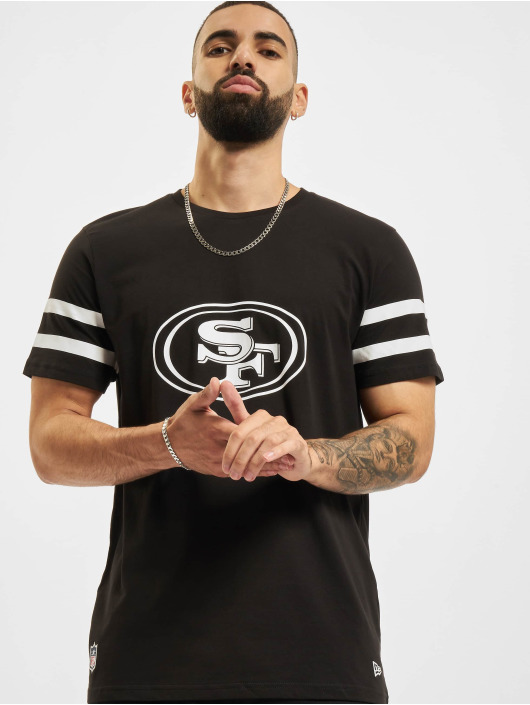 New Era T-paidat NFL San Francisco 49ers Jersey Inspired musta