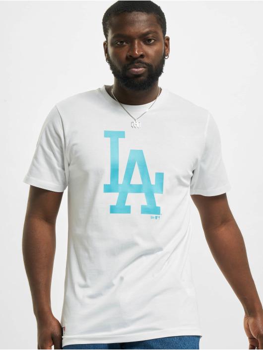 New Era T-paidat MLB Los Angeles Dodgers Seasonal Team Logo valkoinen