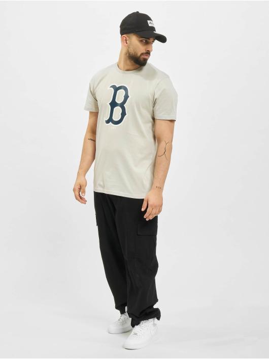 New Era T-Shirt MLB Boston Sox Seasonal Team Logo beige