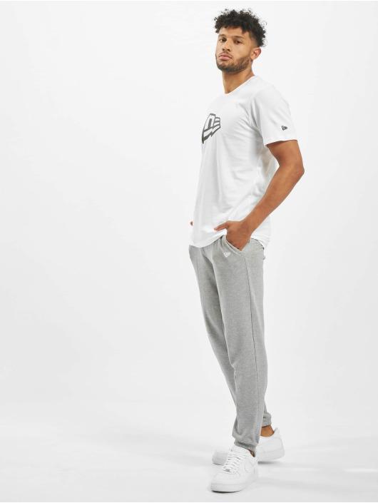 New Era T-shirt Essential Flag bianco
