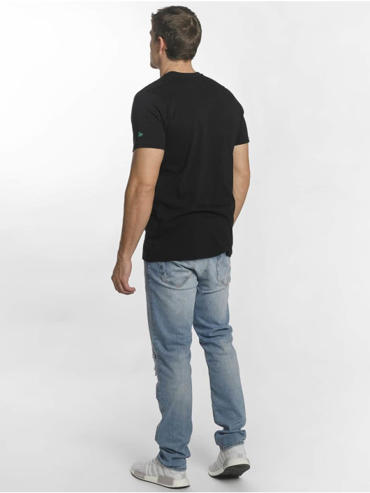 New Era T-Shirt Team Logo Boston Celtics black