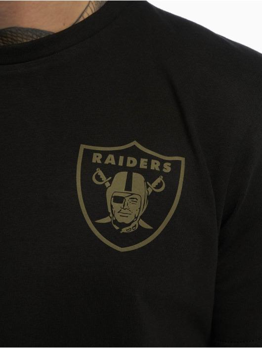 New Era T-Shirt Nfl Camo Collection Oakland Raiders black