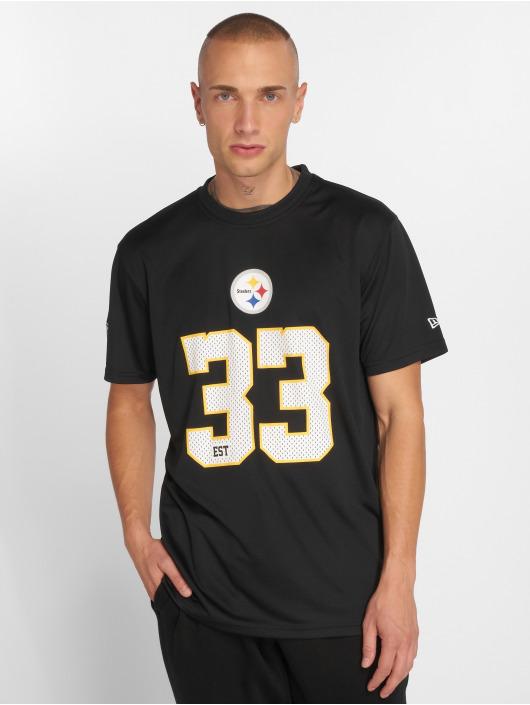 New Era T-Shirt NFL Team Supporters Pittsburgh Steelers black