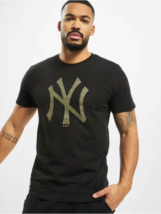 New Era T-Shirt MLB NY Yankees Seasonal Team Logo black
