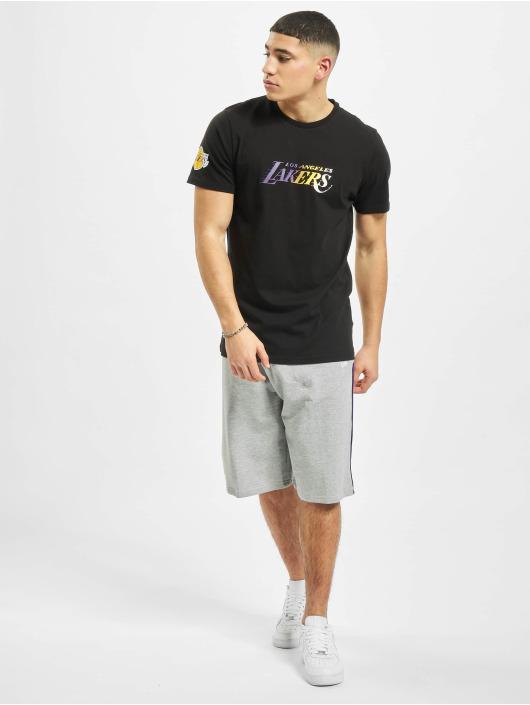New Era T-Shirt NBA LA Lakers Gradient Wordmark black