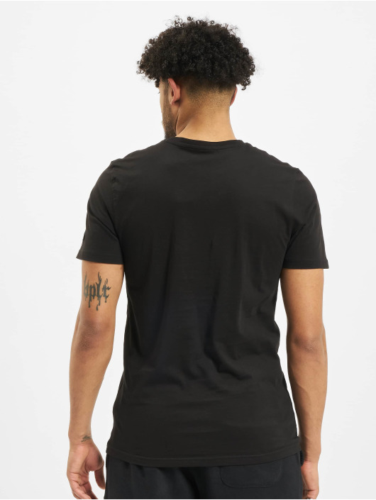 New Era T-Shirt NBA Chicgo Bulls Team Logo black