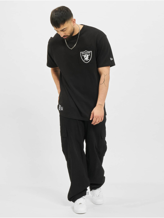 New Era T-Shirt NFL Las Vegas Raiders Box Logo black