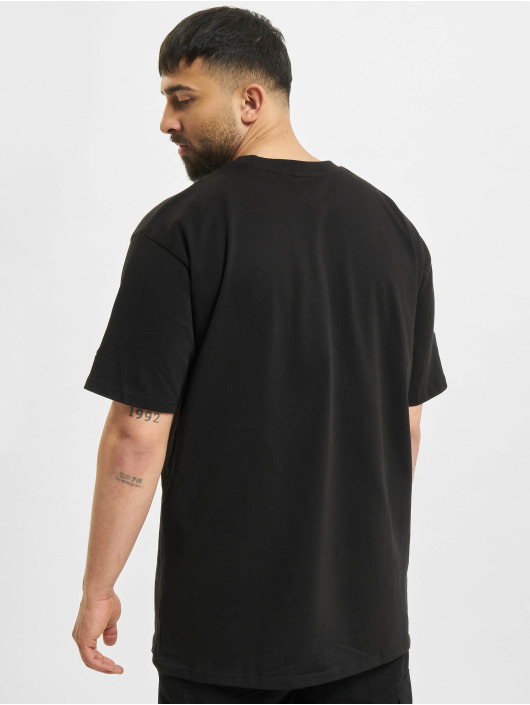 New Era T-Shirt NBA Oversized Logo Eastwest Coast black