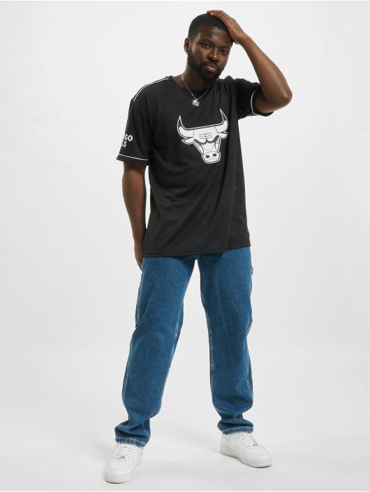 New Era T-Shirt NBA Chicago Bulls Team Logo Oversized black