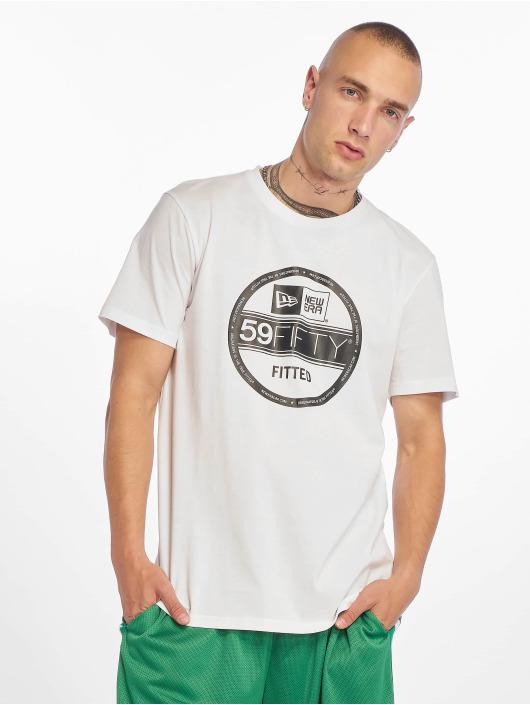 New Era T-Shirt Visor Sticker blanc