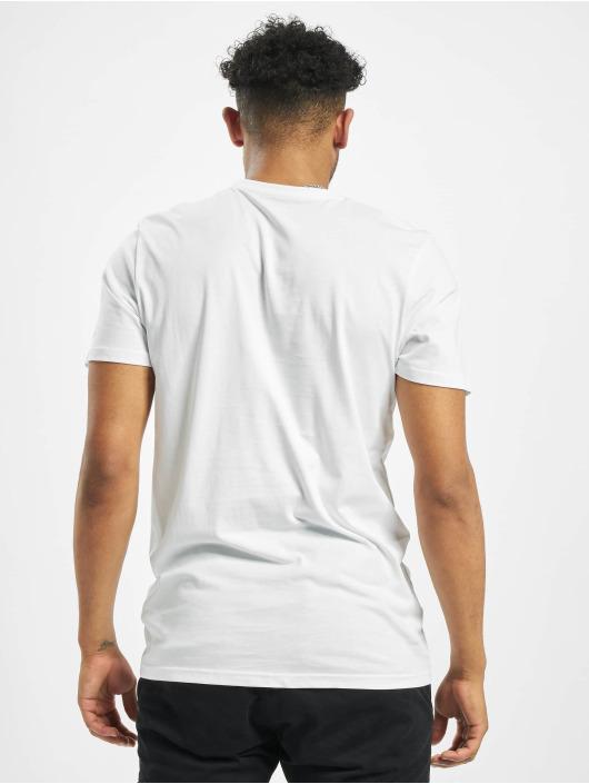 New Era T-Shirt Flag Infill blanc