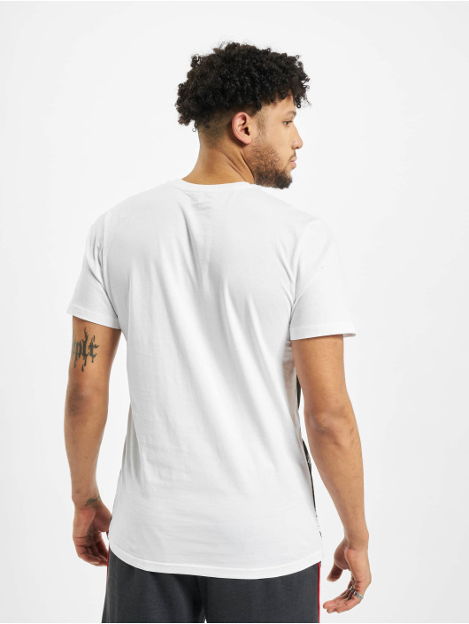 New Era T-Shirt NBA Chicago Bulls Photo Prin blanc