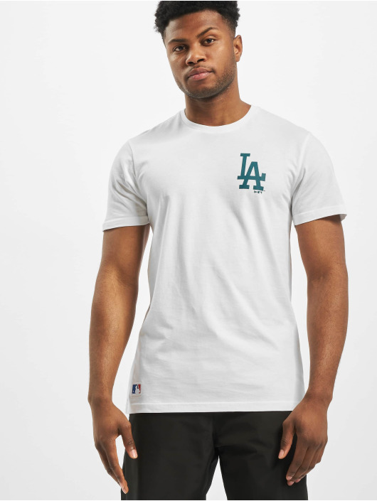 New Era T-Shirt MLB LA Dodgers Far East blanc