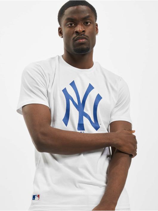New Era T-Shirt NY Yankees Primry Contrast blanc