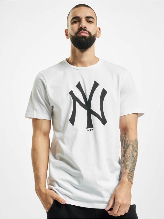 New Era T-Shirt MLB NY Yankees blanc