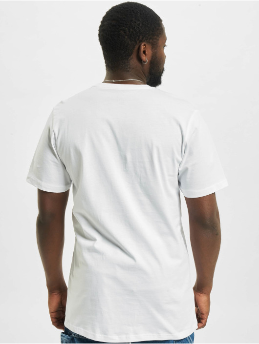 New Era T-Shirt MLB Los Angeles Dodgers Infill Team Logo blanc