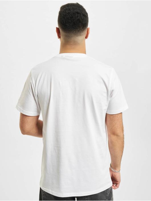 New Era T-Shirt NBA Los Angeles Lakers Oil Slick Infill Logo blanc