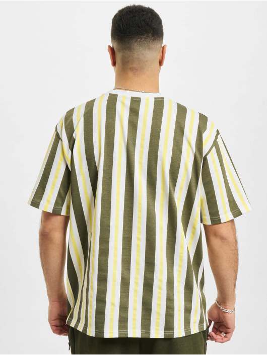 New Era T-Shirt MLB San Francisco Giants Oversized Stripe blanc