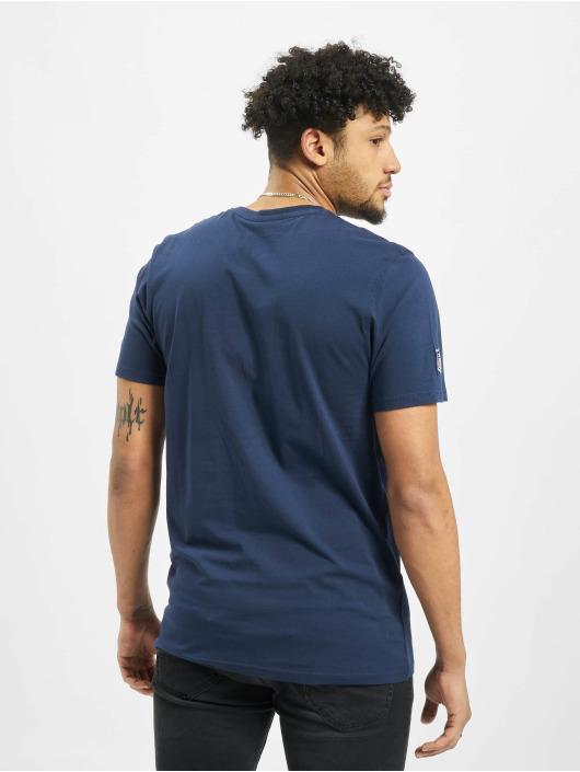 New Era T-Shirt Team Logo Seattle Seahawks blau