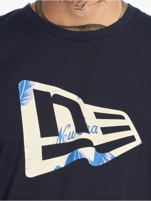 New Era T-Shirt Flag Infill blau