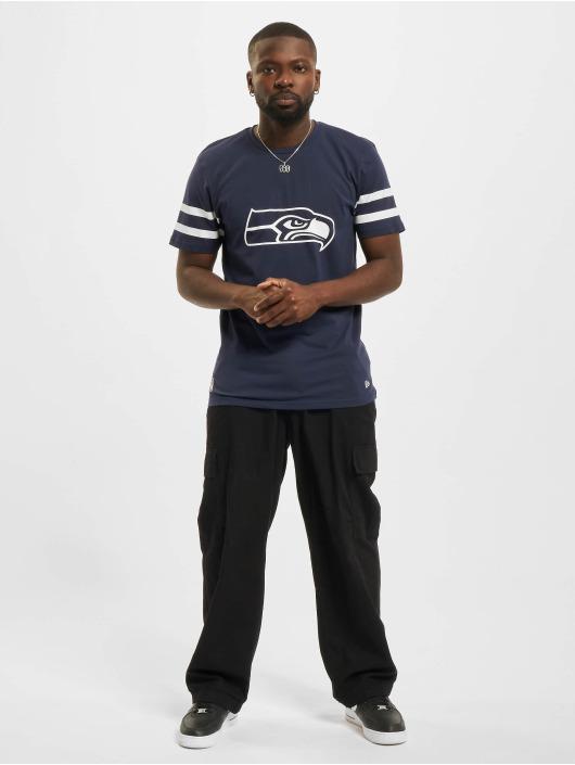 New Era T-Shirt NFL Seattle Seahawks Jersey Inspired blau
