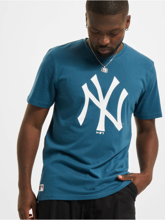 New Era T-Shirt MLB New York Yankees Seasonal Team Logo blau