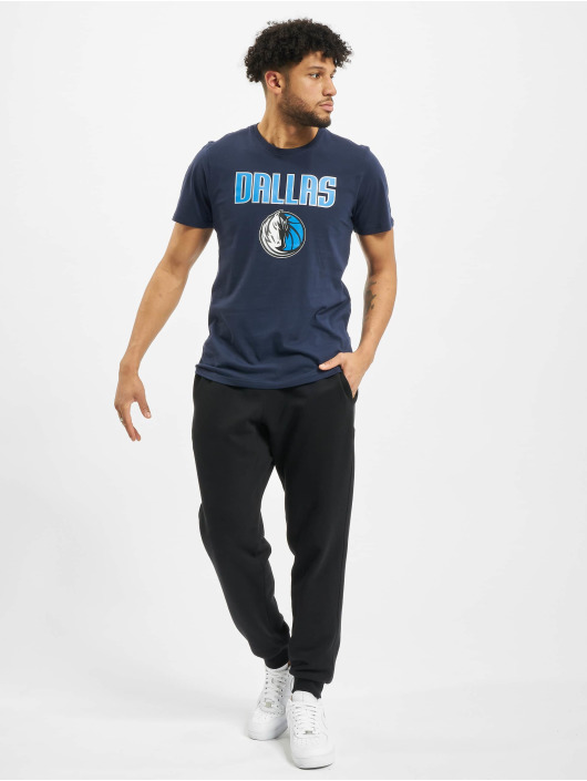 New Era t-shirt NBA Dallas Mavericks Team Logo blauw