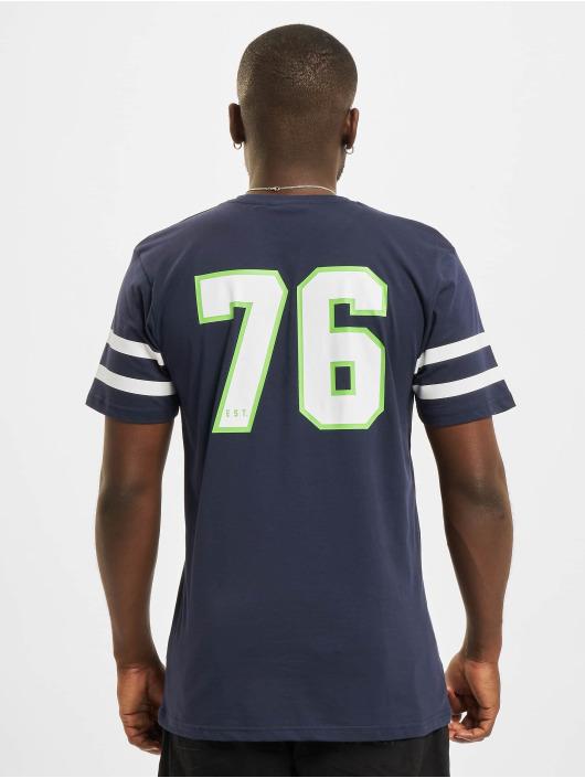 New Era t-shirt NFL Seattle Seahawks Jersey Inspired blauw