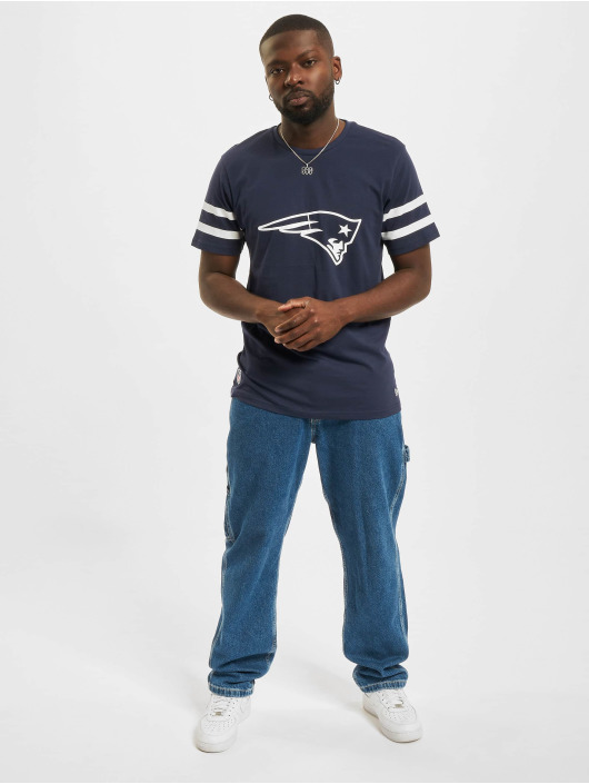 New Era t-shirt NFL New England Patriots Jersey Inspired blauw