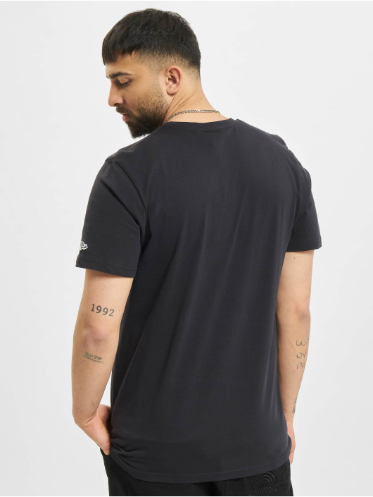 New Era T-Shirt MLB New York Yankees Stack Logo bleu