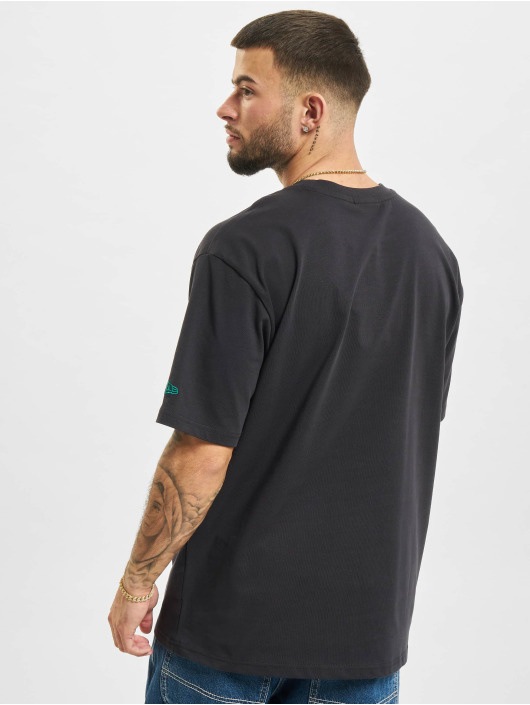 New Era T-Shirt MLB Los Angeles Dodgers Oversized Stripe bleu