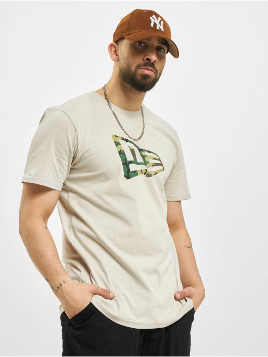 New Era T-Shirt Essential Flag Infill brun