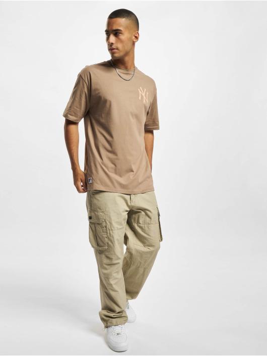 New Era T-shirt MLB NY Yankees Oversized Seasonal Color brun