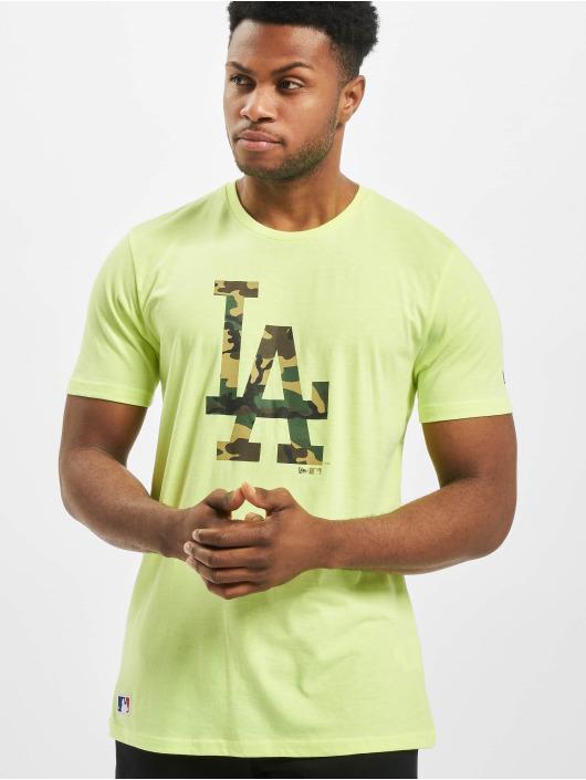 New Era T-Shirt MLB LA Dodgers Infill Team Logo gelb